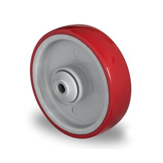single wheel,  Ø 100 mm, PU