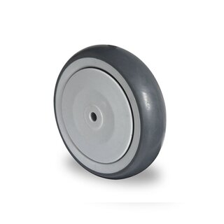 single wheel,  Ø 100 mm, TPR
